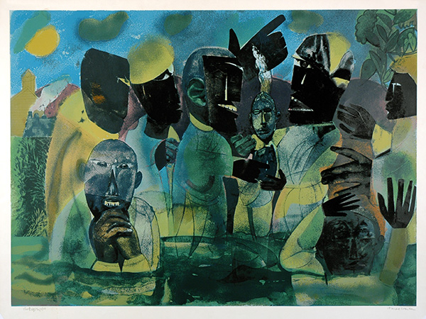 Romare Bearden, The Baptism