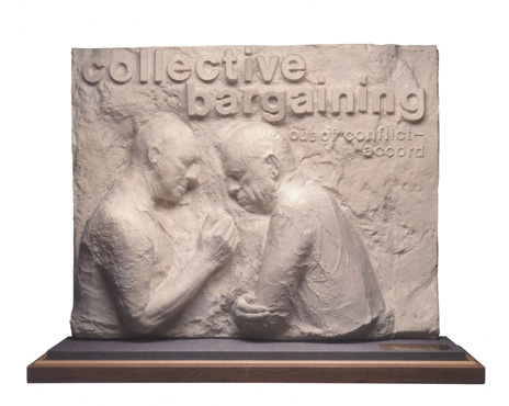 "George Segal, ""Collective Bargaining"""